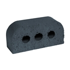 Special Shaped Bricks Smooth Blue Double Bullnose BN.2.2