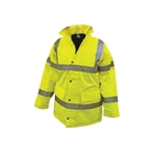 "Scan Hi-Vis Motorway Jacket Yellow Size M (39-41"")"
