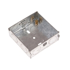 SMJ Electrical Metal Box 25mm 1 Gang