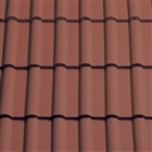 Sandtoft Double Roman Roof Tile Colour Through Red