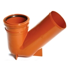 Polypipe Underground Drain 110mm Universal Gully Trap UG413