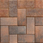 Driveline 50 Block Paving 50mm Burnt Ochre