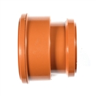 Polypipe Underground Drain 110mm Adapter Thick Clay Socket to PVC Socket UG486