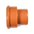 Polypipe Underground Drain 110mm Adapter Thick Clay Socket to PVC Spigot UG487