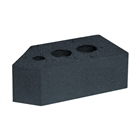Special Shaped Bricks Smooth Blue 45° Squint AN.1.2