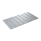 Galvanised Steel Bat-U-Nail/Truss Plate 76mm x 203mm
