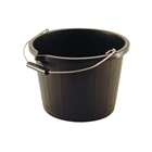 Builders Bucket 14L Black