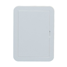 Timloc AP110 Hinged Plastic Access Panel 110 mm x 160mm White