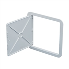 Timloc AP300 Hinged Plastic Access Panel 300 mm x 300mm White