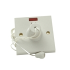SMJ Electrical Ceiling Switch & Neon Double Pole 45A