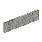 Concrete Gravel Board Rock Faced 300mm x 50mm x 1.83m
