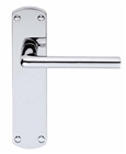 Serozzetta Uno Lever Lock Handle Satin Chrome