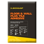 Dunlop Set Fast Plus Floor & Wall Tile Adhesive White 20kg