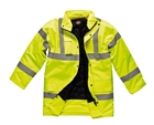 Dickies Hi-Vis Motorway Jacket Size L