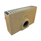 ACO RainDrain Sump Unit with Galvanised Grating
