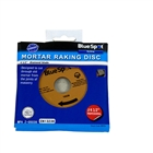 Blue Spot 19536 Mortar Raking Disc 4½""