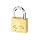 Abus 65/30 30mm Brass Padlock Carded