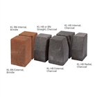 Pavekerb Type K-L Kerb HB Internal Corner Charcoal