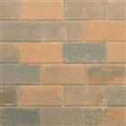 Pavedrive Block Paving 200mm x 100mm x 50mm Burnt Ochre
