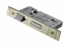 "Easi-T Mortice Lock 5 Lever BS 3"" Stainless Brass"
