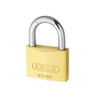 Abus 65/60 60mm Brass Padlock Carded