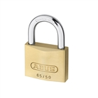 Abus 65/50 50mm Brass Padlock Twin Pack Carded