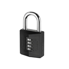 Abus 158/50 50mm Combination Padlock (4 Digit) Die Cast Body Carded