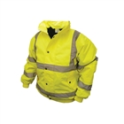 "Scan Hi-Vis Bomber Jacket Yellow Size L (42-44"")"
