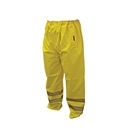 "Scan Hi-Vis Motorway Trouser Yellow Size M (34-36"")"