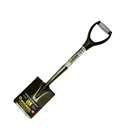 "Roughneck Micro Square Shovel with 27"" Handle"