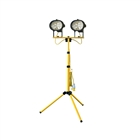 Faithfull Sitelight Twin Adjustable Stand 1000W 110V