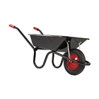 Chillington Camden Wheelbarrow Pneumatic Tyre Black 85L