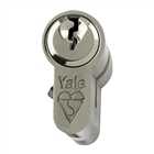 Yale Eurocylinder Kite 35mm x 35mm 80mm Nickel Plated
