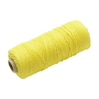 Faithfull Hi-Vis Nylon Brick Line 105m Yellow