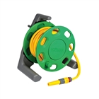 Hozelock 2412 Compact Hose Reel 30m & Multi-Purpose Hose 25m