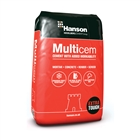 Hanson Multicem Cement (Plastic Bag) 25kg