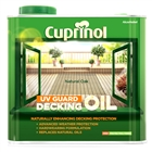 Cuprinol UV Guard Decking Oil Protect Natural Oak 2.5 Litre