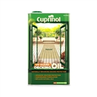 Cuprinol UV Guard Decking Oil Protect Natural 5 Litre