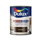 Dulux Water Based Woodsheen Dark Walnut 750ml