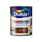 Dulux Water Based Woodsheen Golden Teak 750ml