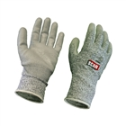 Scan Grey PU Coated Cut 5 Liner Gloves Size L