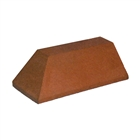 Special Shaped Bricks Smooth Red Plinth External Return LH PL.7.2