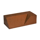 Special Shaped Bricks Smooth Red Plinth Internal Return LH PL.4.2