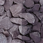 Plum Slate Chippings 40mm 25kg