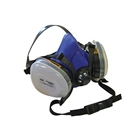Scan Twin Half Mask Respirator & P2 Dust Filter Cartridges