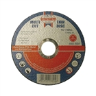 Faithfull Multi Cutting Disc 115 x 1.0 x 22mm (Pack of 10)