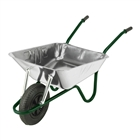 Walsall Easiload Galvanised 85 Litre Wheelbarrow