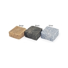 Granite Setts 110mm x 110mm x 100mm Silver