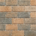 Permeapave Block Paving 200mm x 100mm x 60mm Burnt Ochre