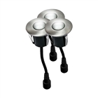 Easy Connect Round IP67 LED Decking Lights Cool White